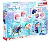 Clementoni Puzzel Superkit Frozen 4-in-1 30 Stukjes