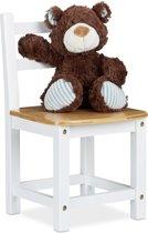 relaxdays - kinderstoel bamboe - stoel voor kinderen - kleuterstoel - stoeltje