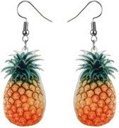 Fako Bijoux® - Oorbellen - Groente & Fruit - Ananas