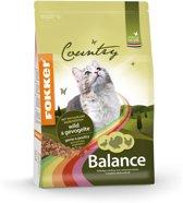 Fokker kat country balance wild/gevogelte kattenvoer 2,5 kg