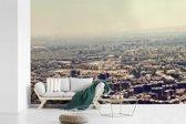 Fotobehang vinyl - Skyline van downtown Damascus in zuiden van Syrië breedte 390 cm x hoogte 260 cm - Foto print op behang (in 7 formaten beschikbaar)