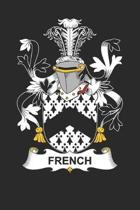 French: French Coat of Arms and Family Crest Notebook Journal (6 x 9 - 100 pages)