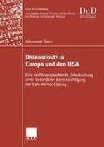 Datenschutz in Europa und den USA