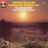 Vaughan Williams: Symphony Nos. 8 & 9