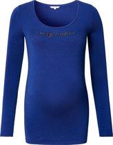 Noppies Zwangerschaps-T-shirt Holy - Medium Blue - M