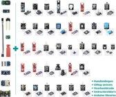 45-Delige Arduino Raspberry UNO R3 / MEGA / NANO Compatible Sensor Module Starters Set - Genuino Starter Kit - Inclusief Handleiding