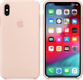 Apple Siliconen Back Cover voor iPhone XS Max - Pink Sand