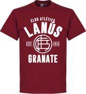 Lanus Established T-Shirt - Chilli Rood - XXL