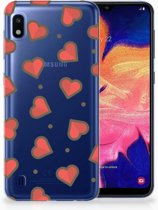 Samsung Galaxy A10 TPU Hoesje Design Hearts