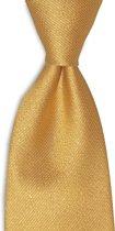 We Love Ties Stropdas goud, geweven polyester Microfill