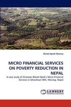 Micro Financial Services on Poverty Reduction in Nepal