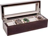 LA ROYALE Horlogebox Lungo - Grijs - 5 Horloges