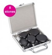 Hot Stone Massage Set 220V - 8 Stones