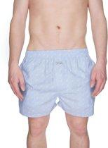 Pockies Fishbone Boxershort - Blauw - Maat L