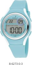 Nowley 8-6273-0-3 digitaal horloge 36 mm 100 meter turquoise
