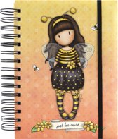Gorjuss Organisational Notebook Bee-Loved (Just Bee-Cause) - Santoro London