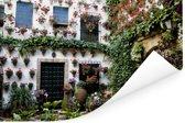 Kleurrijke binnenplein van Cordoba in Spanje Poster 180x120 cm - Foto print op Poster (wanddecoratie woonkamer / slaapkamer) / Europese steden Poster XXL / Groot formaat!
