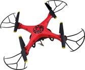 Happy People Quadcopter Sky Defender 40 Cm Rood/zwart