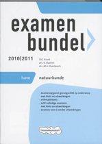 Omslag van 'Examenbundel  - 2010/2011 - deel HAVO Natuurkunde'