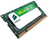 Corsair ValueSelect VS2GSDS800D2 2GB DDR2 SODIMM 800MHz (1 x 2 GB)