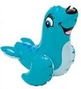 Intex Opblaas waterspeelgoed zeehond lengte circa 24 cm
