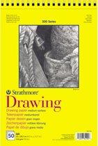 Strathmore 300 series teken papier - wit