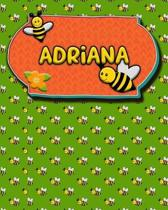 Handwriting Practice 120 Page Honey Bee Book Adriana