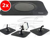 2x TomTom / Garmin onderlegger - Dashboard steun - Navigatie houder - Anti slip - Rheme
