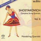 D. Shostakovich: Complete String Quartets Vol. Ii