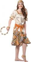 Zigeuner kostuum voor dames 44 (2xl)