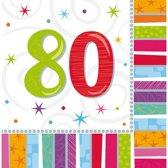 Amscan 991419 servet Multi kleuren 16 stuk(s)