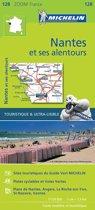 Nantes environs 11128 carte michelin kaart zoom