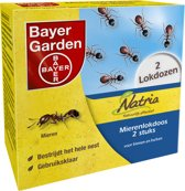 Bayer Natria - Mierenlokdoos - 2 Stuks