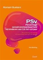 PSV- Percentage spraakverstaanbaarheid bij kinderen. Beoordeling en meting verstaanbaarheid van de spraak. Handleiding + Testboek