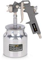 Powerplus POWAIR0106 Verfpistool met onderbeker - 1,5mm spuitmonddiameter - 750cc verfinhoud