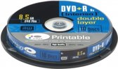 Intenso 1x10 DVD+R 8.5GB 8x Double Layer printable
