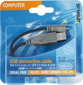 laad+datakabel micro USB 0,5m
