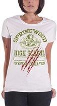 Merchandising A NIGHTMARE ON ELM STREET - T-Shirt Springwood High School GIRLY (S)