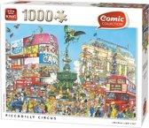 Comic Piccadilly Circus - Puzzel - 1000 Stukjes