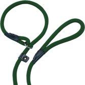 Nobby fun retriever lijn lijn en halsband in 1 groen 1,3 x 170 cm - 1 st