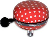 Big Bell Basil Polkadot 80mm ding dong red/white 50396