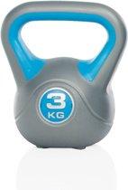 XQ MAX Kettlebell - 3 kg - Grijs/Blauw