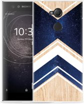 Sony Xperia XA2 Ultra Hoesje Space wood