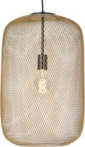 QAZQA bliss - Hanglamp eettafel - 1 lichts - Ø 350 mm - Goud/messing