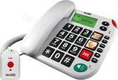 Maxcom KXT 481 SOS - Single DECT telefoon - Wit