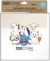 Zoocchini herbruikbaar snacktasje Snackzakje