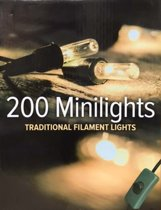 200L filament traditionele Kerstverlichting 30m lang