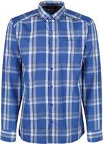 Regatta Mindano L/Sleeve Outdoorshirt - Heren - Blauw