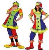 Clown & Nar Kostuum | Olaffio Clown | Vrouw | Maat 40-42 | Carnaval kostuum | Verkleedkleding