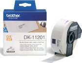Label etiket brother dk-11201 29 mm x 90 mm adres wit